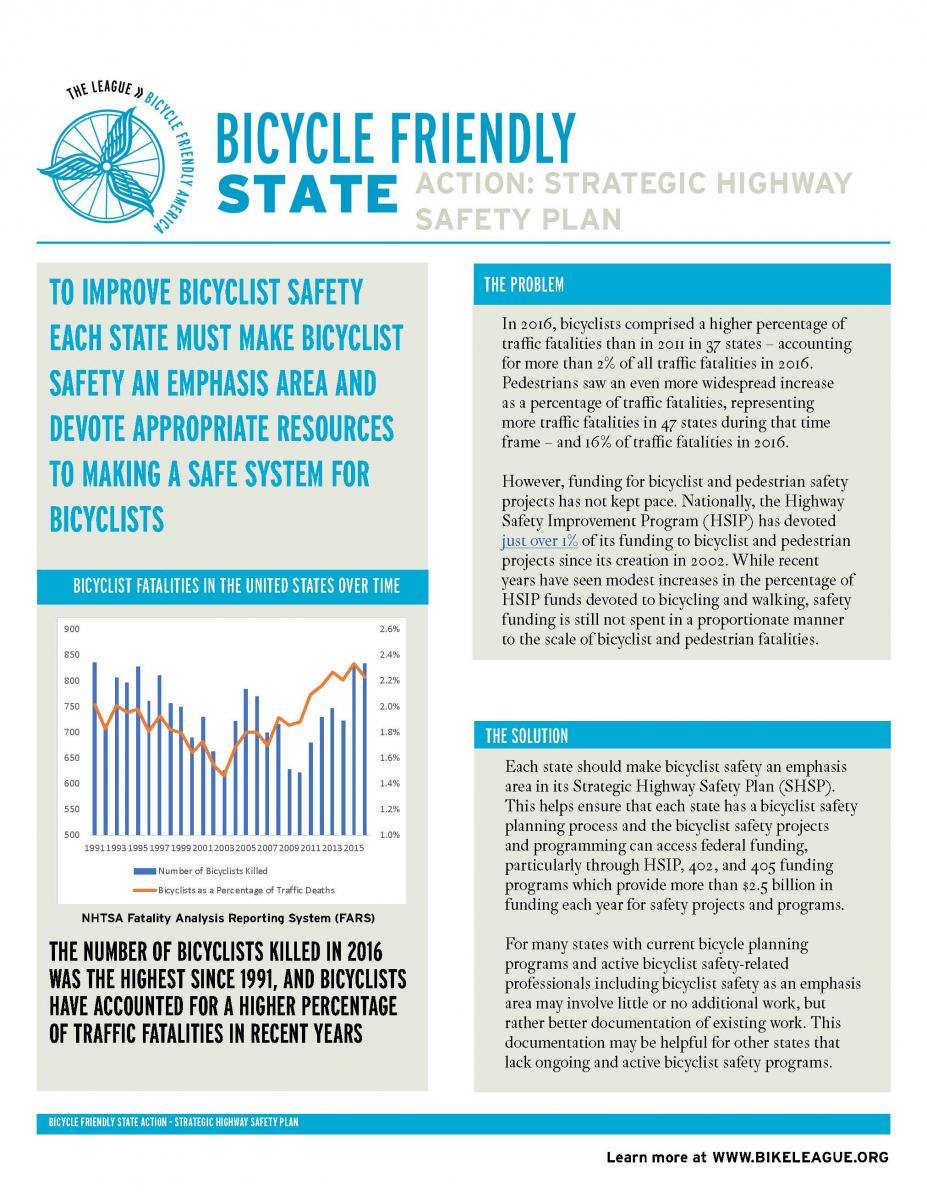Strategic Highway Safety Plan White Paper