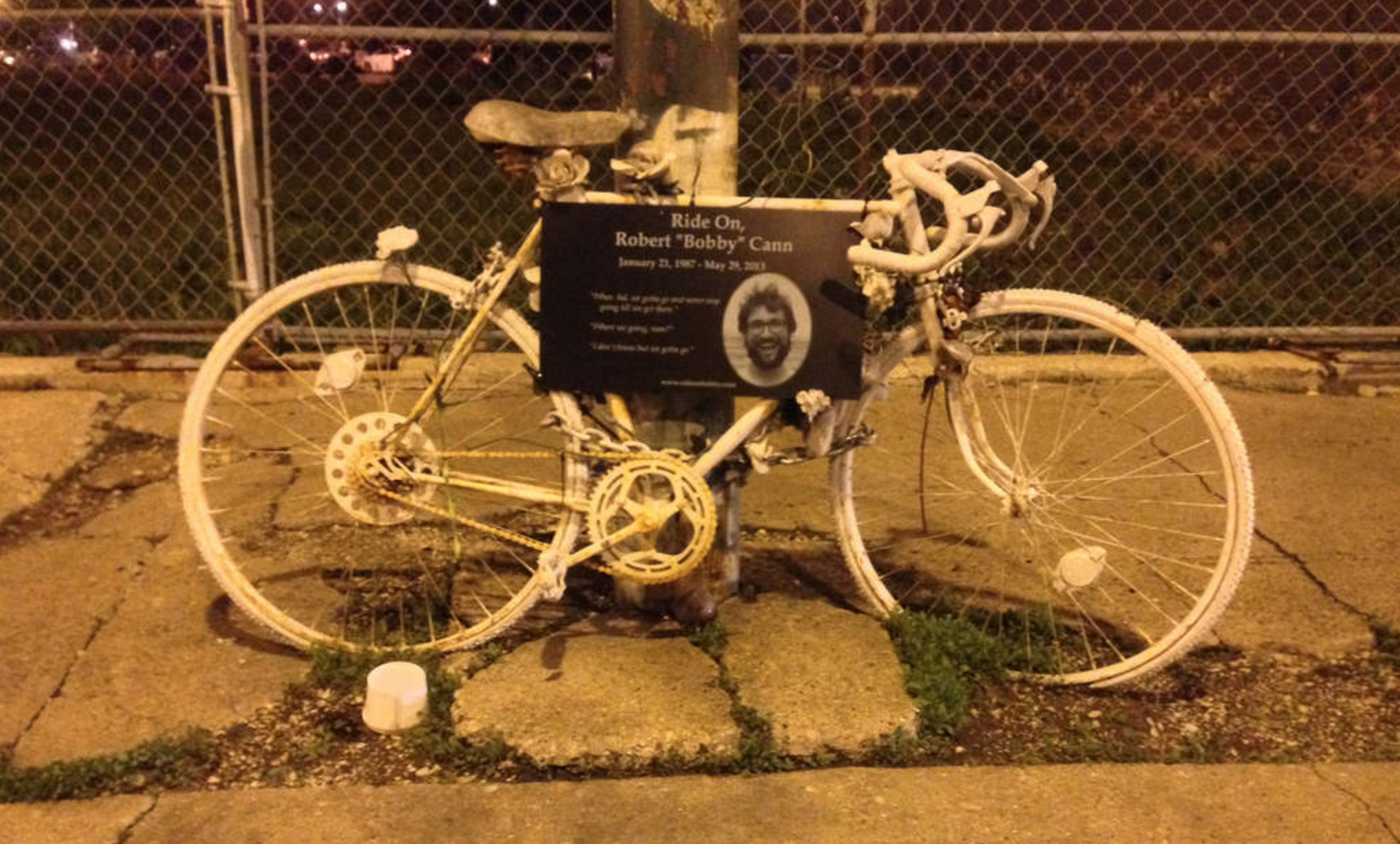 Chicago Ghost Bike
