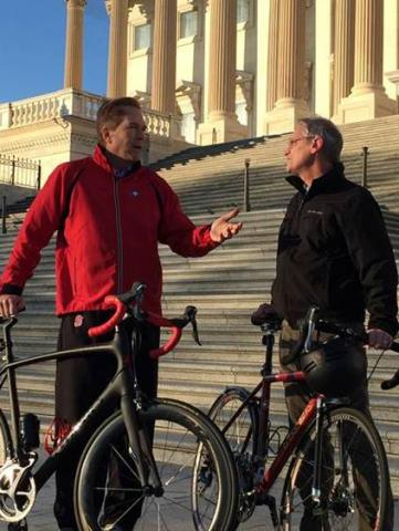 Reps. Buchanan and Blumenauer co-chair Congressional Bike Caucus