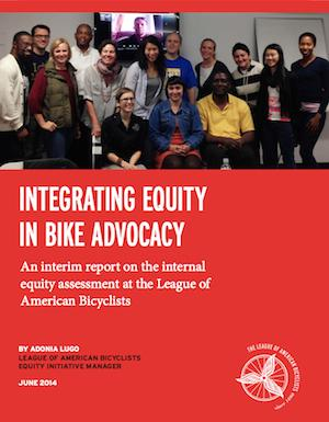Integrating Equity report cover
